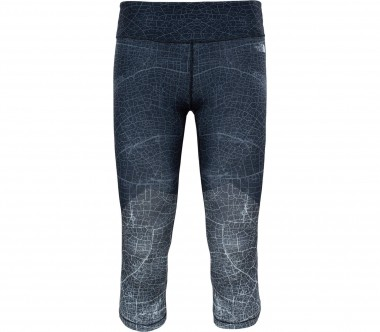 The North Face - Motivation Printed Crop women's functional pants (grey)