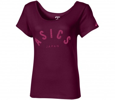 Asics - Logo Layering women's running top (purple)