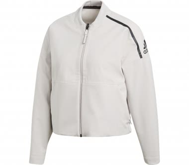 Adidas - ZNE Singled Out Bomber women's training jacket (creme)