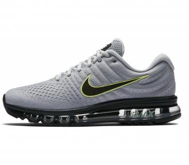 Nike - Air Max 2017 men's running shoes (grey/black)