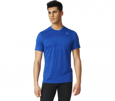 Adidas - Supernova Shortsleeve men's running top (blue)