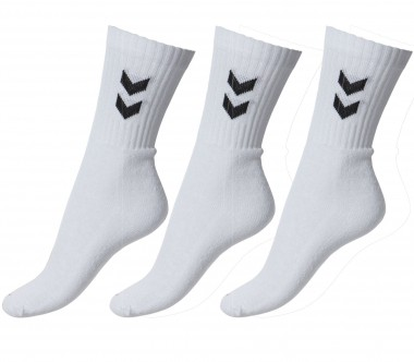 Hummel - Tennis socks 3 Basic Pack - Tennis - Tennis Cloth - Men