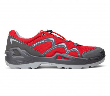 Lowa - Innox GTX LO children's hiking shoes (red/grey)