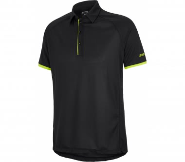 Ziener - Cale men's polo top (black)