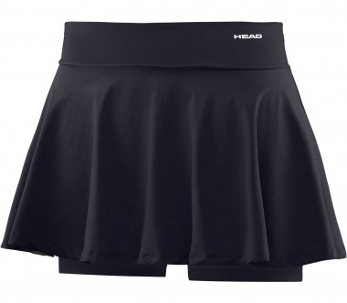 Head - Performance Woven Knit women's tennis skirt (black)