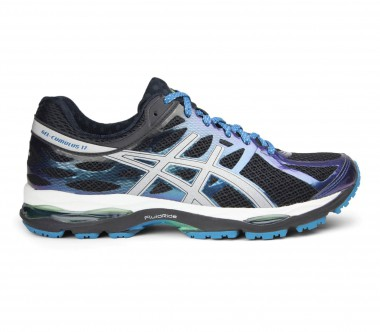 Asics - Gel-Cumulus 17 Lite-Show men's running shoes (black/silver)