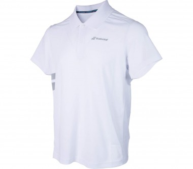 Babolat - Core Poly Pique men's tennis polo top (white)