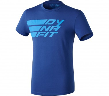 Dynafit - Compound Shortsleeve Tee men's functional top (blue)