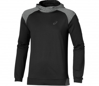 Asics - Thermopolis men's running hoodie (black/grey)