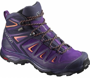Salomon - X Ultra 3 Mid GTX® women's hiking shoes (purple/violet)