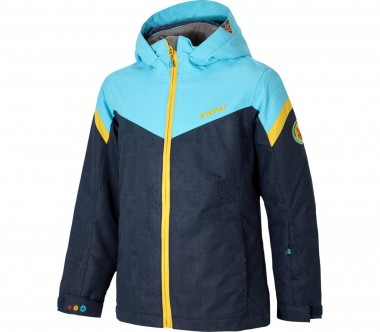 Ziener - Amatie Children skis jacket (blue/black)