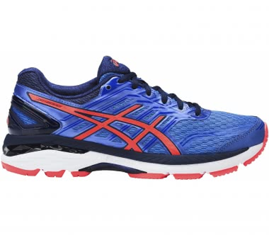 Asics - GT-2000 5 women's running shoes (blue/coral)