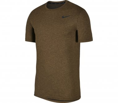 Nike - Breathe Hyper Dry Shortsleeve men's top (brown/black)