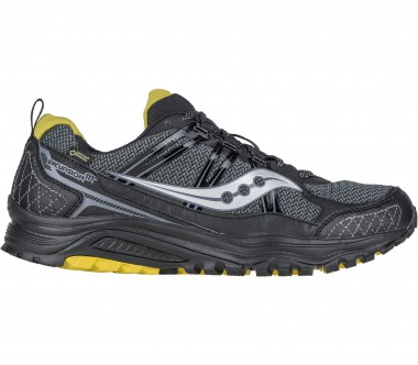 Saucony - Excursion TR10 GTX men's running shoes (grey/yellow)