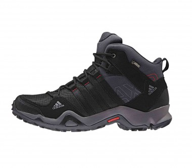 Adidas - AX2 Mid GTX men's multi-sports shoes (black/grey)