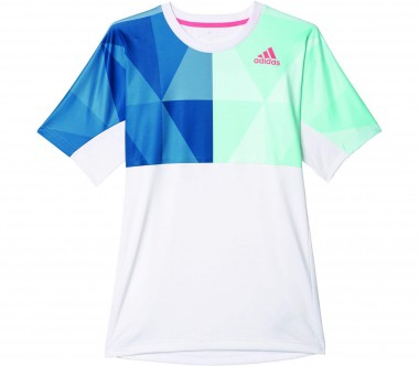 Adidas - Multifaceted Pro men's tennis top (white/light yellow)