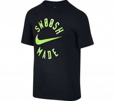 Nike - Dry children's training top (black/green)