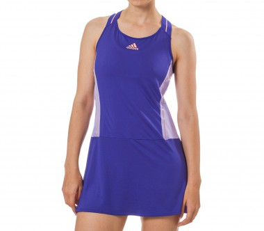 Adidas - Adizero women's tennis dress (blue/orange)