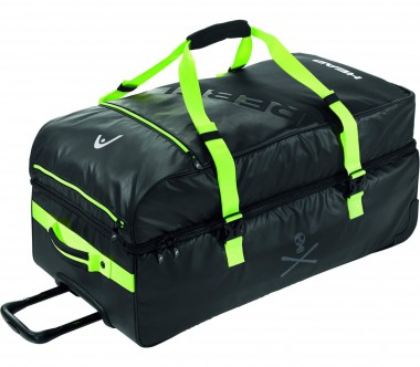 Head - Rebels Travelbag (black/light yellow)