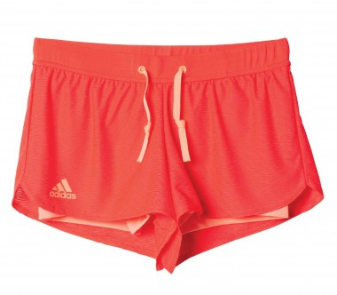 Adidas - Sequentials Core women's tennis shorts (red)