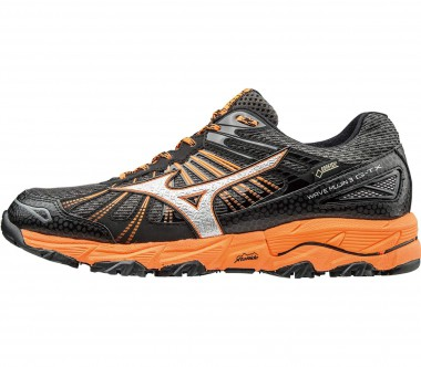 Mizuno - Wave Mujin 3 GTX® men's running shoes (dark grey/orange)