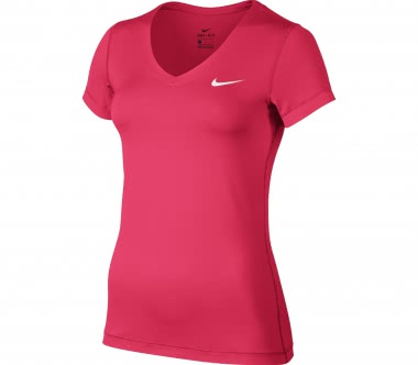 Nike - Victory Base Layer V-Neck women's training top (pink)
