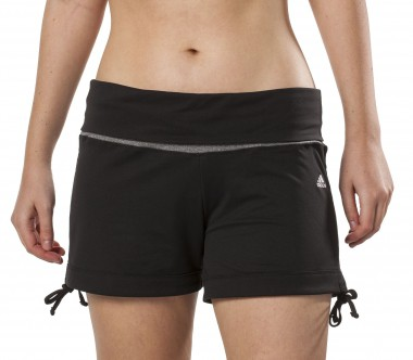 Adidas - Fitness- and training pants women's Studio Pure Yoga Knit shorts - SS13