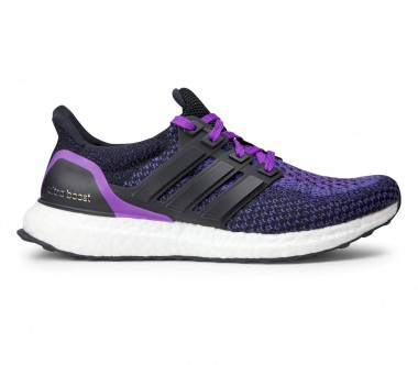 Adidas - Ultra Boost women's running shoes (black/purple)