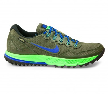 Nike - Air Zoom Wildhorse 3 GTX men's running shoes (blue/khaki)