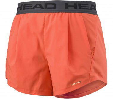 Head - Performance women's tennis shorts (coral)