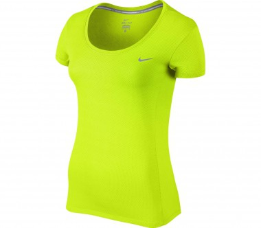 Nike - Dry Contour women's running top (light yellow)