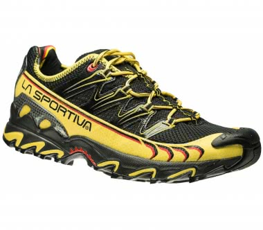 La Sportiva - Ultra Raptor men's trail running shoes (black/yellow)
