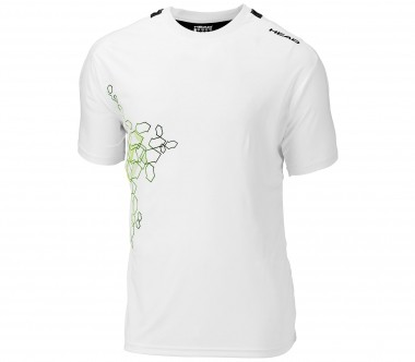 Head - Dallas Shirt white/lime - Tennis - Tennis Cloth - Men