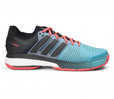 Adidas - Tennis Energy Boost men's tennis shoes (black/blue)