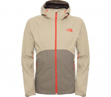 The North Face - Sequence men's raincoat (green/brown)