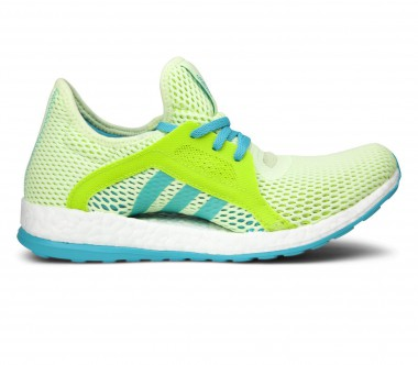 Adidas - Pureboost X women's running shoes (light yellow/green)
