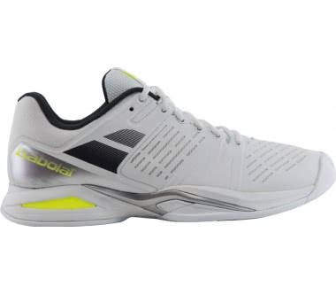 Babolat - Propulse Team Indoor men's tennis shoes (white/grey)