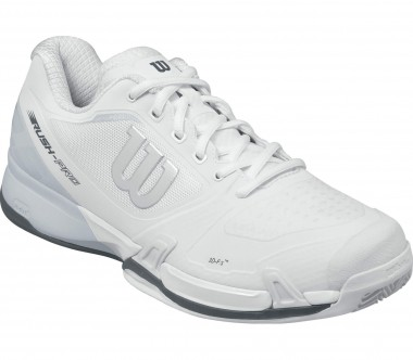 Wilson - Rush Pro 2.5 Clay Court men's tennis shoes (white/light blue)