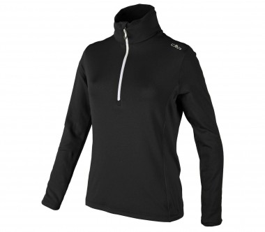 CMP - Jacquard women's fleece pullover (black)