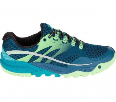 Merrell - All Out Charge women's trail running shoes (blue)
