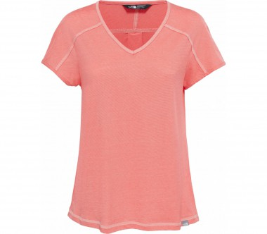 The North Face - Dayspring Shortsleeve women's functional top (light red)