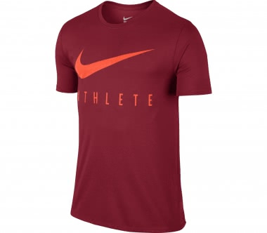 Nike - Dry men's training top (dark red/orange)