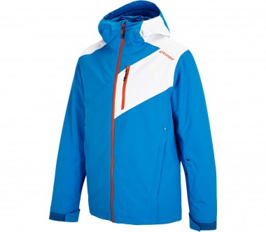 Ziener - Turry men's ski jacket (blue/white)