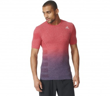Adidas - Ultra Prime Knit Dip Dye men's running top (red/blue)