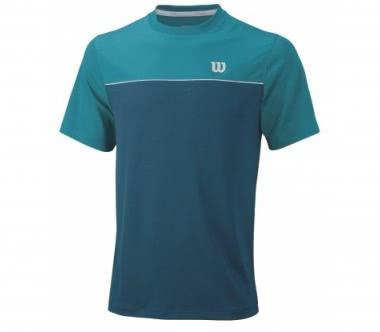Wilson - Star Bonded Crew men's tennis top (blue)