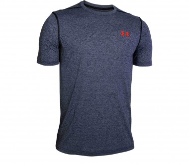 Under Armour - Threadborne Fitted Shortsleeve men's training top (grey)