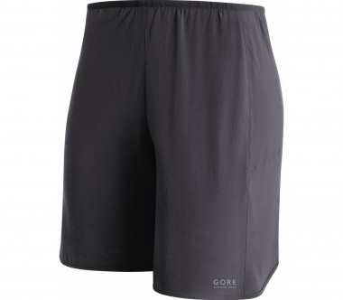 GORE RUNNING WEAR® - Essential Lady 2in1 women's running shorts (black)