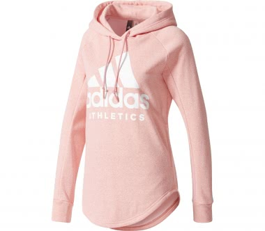 Adidas - Sport ID Over Head women's training hoodie (pink)