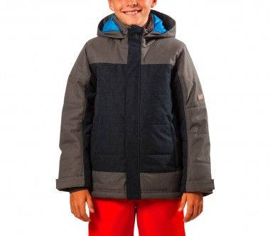 Ziener - Amhor Children ski jacket (dark blue/grey)