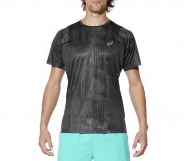 Asics - fuzeX Printed men's running top (dark grey)